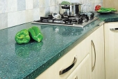 Technogranite Crystal Green